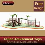 CE Theme Park commercial Objet abordable plastique en plein air Aire de jeux (X1229-1)