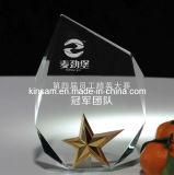 De populaire Ambacht van de Trofee van het Glas van het Kristal van de Ster