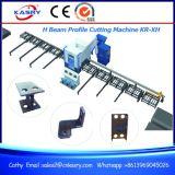 Automatischer Träger des Stahl-H, der CNC-Plasma-Ausschnitt-fertig werdenes Maschinen-Roboter Kr-Xh ein Profil erstellt