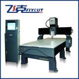 Porta da madeira de Flycut 1325 que faz a máquina do router da gravura do CNC