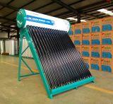 58/1800 no calentador de agua solar de la presión