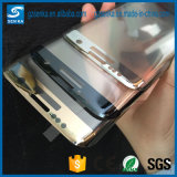 ausgeglichenes Glas-Bildschirm-Schoner der Volldeckung-3D für Rand Samsung-S7