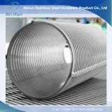 Écrans de fil de cale d'acier inoxydable de grand diamètre