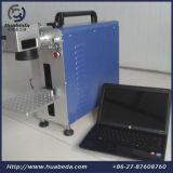 10W 20W30Wのファイバーレーザーのマーキング機械か金属のステンレス鋼のファイバーのマーカー