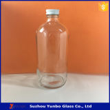 500ml Glass Juice Bottle 16 Unze Boston Beverage Bottle