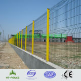 Подгонянное Curve Weld Wire 3D Fence Panel