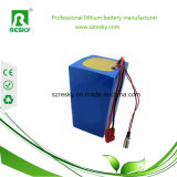 Pacchetto ricaricabile della batteria di LiFePO4 12V 50ah per l'indicatore luminoso di via solare
