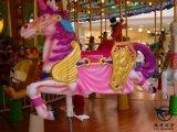 Joyeux disparaissent le carrousel de rond