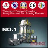 Máquina que sopla de Común-Extrudado de la película rotatoria de la hilera de la Tres-Capa
