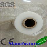 Película de estiramento transparente de moldação da máquina do envoltório LLDPE da pálete do rolo enorme do polietileno