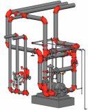 Encaixes de tubulação Grooved para a proteção de incêndio