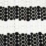 Tissu 100% de lacet de mode de polyester pour le vêtement (0009)