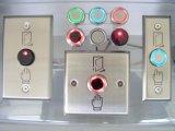 Alto interruptor de botón del timbre de la aleación de aluminio de Quliaty