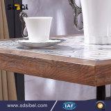 Hölzerner Kaffee-Großhandelstisch-quadratischer Speisetisch Sbe-CZ0613