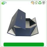 カスタム磁気閉鎖(CKT-CB-708)が付いているロゴによって印刷される平らなボール紙のギフト用の箱