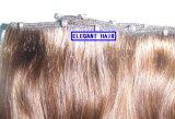 علاوة عذراء شعر مستقيمة [هومن هير] إمتداد 100% [هومن هير] نسيج