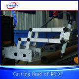 Machine de découpage en acier de profil de pipe en métal