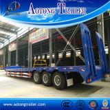 3 assen 13m Gooseneck van de Lengte Semi Aanhangwagen van Lowbed voor Verkoop