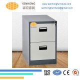 Шкаф для картотеки металла офиса 2 ящиков вертикальный