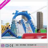 販売のためのプールのスライド、フレームのプールのための膨脹可能な水スライド