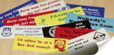 Etiqueta engomada auta-adhesivo de la promoción del vinilo de encargo