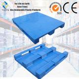 la industria alimentaria resistente 1200X1000 fácil limpiar todo el emergido es paleta plástica cerrada