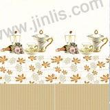 300X600mm warmer Blumen-Entwurfs-keramische Wand-Fliesen für Wohnzimmer