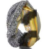 100% 시퐁에 의하여 인쇄되는 실크 주름 숄 (ALJ10000402)