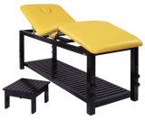 Cama 09d02 da massagem da madeira contínua