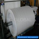 Пластичным рулон ткани сплетенный полипропиленом