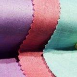 Tecido tingido em tecido Tencel Tecido de linho Tecido de cetim para vestido de mulher Casacão de saia Vestuário para crianças Têxtil doméstico.