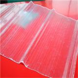 Polycarbonat-transparentes gewölbtes Dach-Blatt