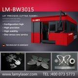 Máquina de estaca do laser da fibra de Lamy com cambiador da pálete