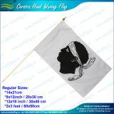 Изготовленный на заказ ручной флаг ручки (NF01F02023)