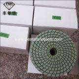 A almofada de polonês flexível do diamante de Wd-4 Shineful com Velcro suportou