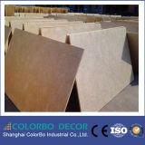 Scheda acustica del soffitto della fibra del suono di legno del cemento