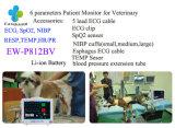 Монитор Ew-P812BV 12.1 параметров дюйма 6 терпеливейший для ветеринарного контроль