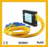 Divisore ottico del PLC della fibra del connettore ottico di CATV FC