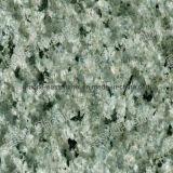 インポートされた緑のMarinaceの花こう岩のシャワーのタイル