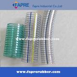 Le fil fin a tressé le tuyau renforcé par spirale de fil d'acier de PVC de Transparent/Clear