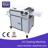 증명서 Sguv-480와 사용을%s 쉬운 가장 싼 수동 UV 코팅 기계