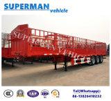 3 Aanhangwagen van de Vrachtwagen Goosneck van de Zijgevel van de as de Bulk Semi voor Lading