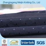 Sportswear (MJ5097)를 위한 뜨개질을 한 Elastic Polyester Spandex Diamond Fabric