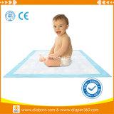 Bebê descartável macio Underpads do preço do competidor do cuidado