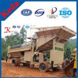 Машина добычи золота экрана бутары золота Китая (KDTJ-100)