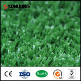 يضع اللون الأخضر طبيعيّ اصطناعيّة كرة قدم عشب سجادة لأنّ [فووتبلّ فيلد]