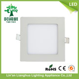 Rundes Square 3W 6W 9W 15W 18W 20W 48W LED Ceiling Panel Light mit CER RoHS