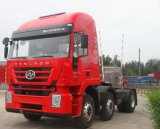 6X4 Saic-Iveco Hongyan Genlyon CNG/LNG Traktor