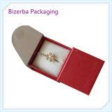 Boîte-cadeau de papier rigide professionnelle d'emballage de bijou pour l'empaquetage