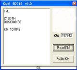 Opel 거리계 주행거리 개정 프로그래머를 위해 다시 놓이는 Opel Km를 위해